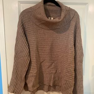 Anthropologie Moth brand sweater funnel cowl neck